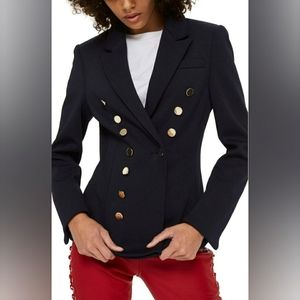 NWT TOPSHOP GOLDEN BUTTON DOUBLE BREASTED JACKET